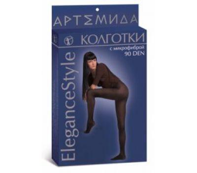 Колготки c микрофиброй 90 den Elegance style (Артемида)