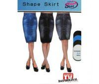 Леджинсы юбка синий Shape Skirt