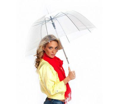 Зонт трость Прозрачный купол