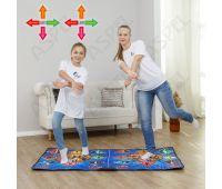 Беспроводной танцевальный коврик с геймпадами 32 бита для двоих