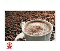 Кухонный экран кофе