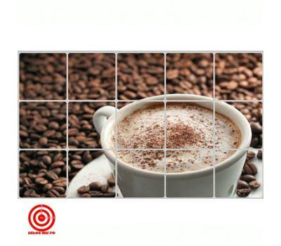 Экран защитный кухонный Кофе
