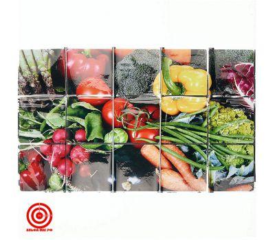 Экран защитный кухонный Овощи