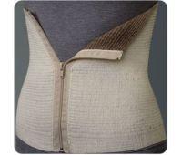 Пояс (бандаж) согревающий эластичный из верблюжьей шерсти на молнии