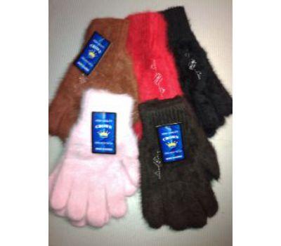 Шерстяные перчатки из ангоры