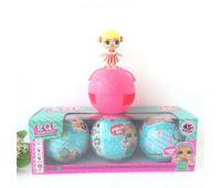 Кукла сюрприз в шарике 3 шт в наборе