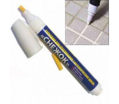 Карандаш для отбеливания сантехнических швов Снежок