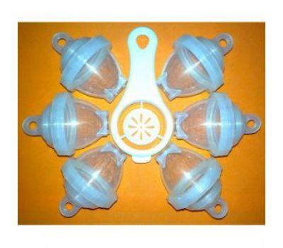 Контейнеры для варки яиц Лентяйка (6 контейнеров)