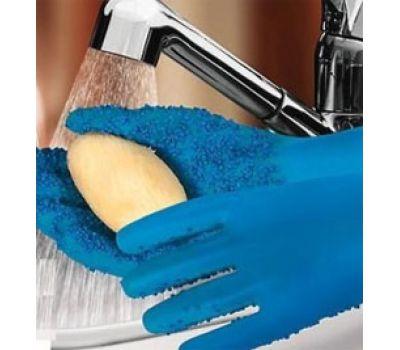 Силиконовые кухонные перчатки ШКУРКА для чистки овощей