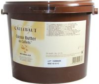 Какао масло в галетах Barry Callebaut 3 кг