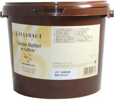 Какао масло в галетах Barry Callebaut (фасовка 3кг)