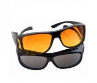 Очки водительские солнцезащитные HD Vision (черные)