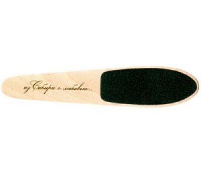 Пилка деревянная уход за ногами малая