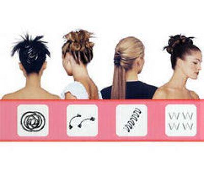 Заколки для волос в наборе BRADEX Сто причесок (Хеагами)